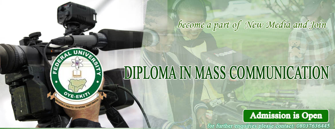 Diploma in Mass Comunication